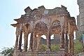Temple ruins infront of Meherangarh fort.jpg