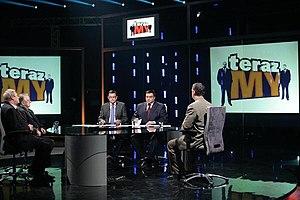 Andrzej Morozowski - Andrzej Morozowski and Tomasz Sekielski in their talk show Teraz my