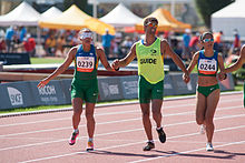 Terezinha Guilhermina (L), Jerusa Santos (R) - 2013 IPC Athletics World Championships.jpg