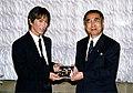 Tetsuya Komuro and Keizo Obuchi 19991020.jpg