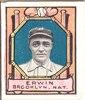 Tex Erwin, Brooklyn Dodgers, baseball card portrait LCCN2007683839.tif