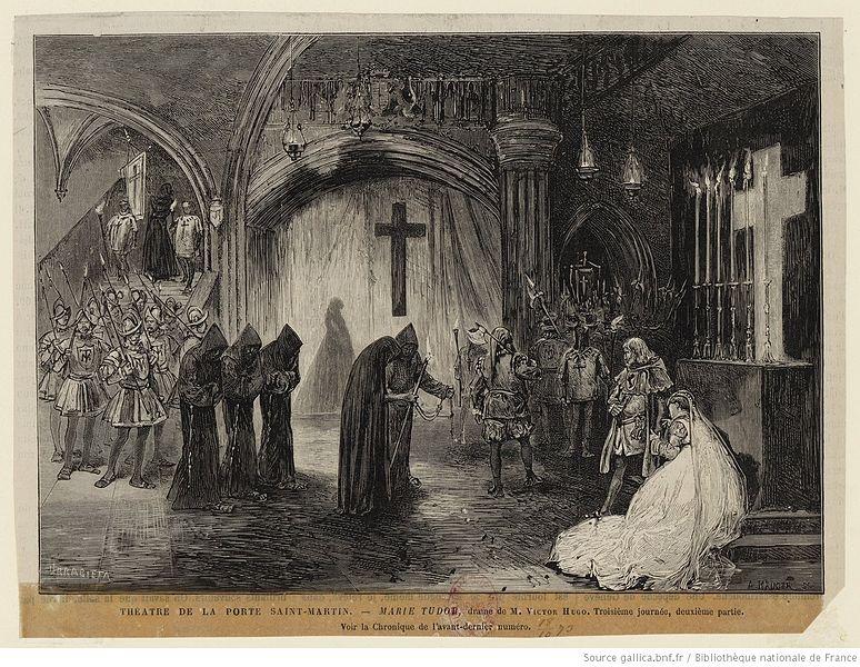 Soubor th tre de la porte saint martin marie tudor - Theatre de la porte saint martin plan ...