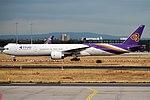Thai Airways, HS-TKR, Boeing 777-3AL ER (30313478567).jpg