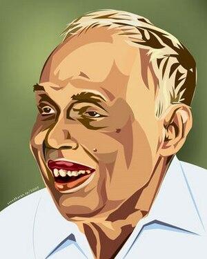 Thakazhi Sivasankara Pillai - Image: Thakazhi 1