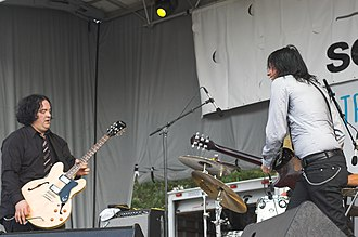 The Posies - The Posies perform in Chicago, Illinois in June 2009.