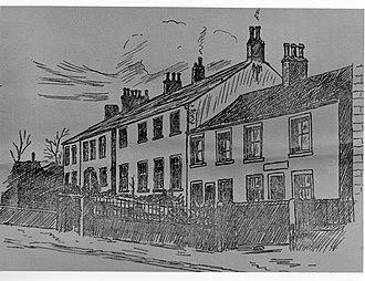 Aspatria Agricultural College - The Aspatria Agricultural College (Beacon House) circa 1874