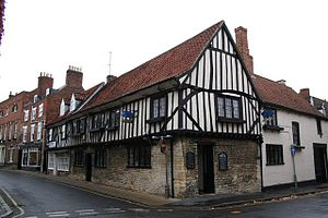 Pubs and inns in Grantham - Image: The Blue Pig pub in Grantham