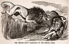 The British Lion's Vengeance on the Bengal Tiger.jpg