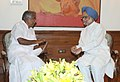 The Chief Minister of Kerala, Shri Oommen Chandy meeting the Prime Minister, Dr. Manmohan Singh, in New Delhi on May 19, 2011.jpg