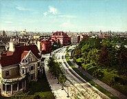 The Circle, Brooklyn, New York, 1904