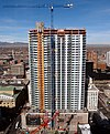 The Denver Spire building in January 2009.JPG