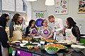 The Duke and Duchess Cambridge at Commonwealth Big Lunch on 22 March 2018 - 128.jpg