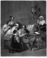 The Family of Cromwell Interceding for the Life of Charles I by Johannot.png