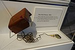 The First Mouse, 1964 - prototype, invented by Douglas Engelbart and built by Bill English at the Stanford Research Institute (SRI) - National Museum of American History (2015-10-13 by Kazuhisa OTSUBO).jpg