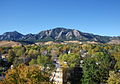 The Flatirons in autumn..JPG