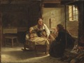 The Fortune-teller (Adolph Tidemand) - Nationalmuseum - 18280.tif