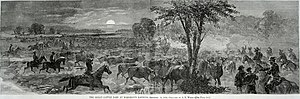 Cattle raiding - The Beefsteak Raid (1864) during the American Civil War.