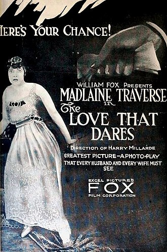 The Love That Dares - Image: The Love That Dares (1919) Ad 1