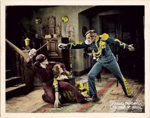 The Mark of Zorro (1920 film) - A scene of the movie