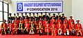 The President, Shri Pranab Mukherjee in a group photograph at the Convocation of the Management Development Institute- Murshidabad, at MID- Murshidabad, in Jangipur, West Bengal.jpg
