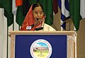 The President, Smt. Pratibha Devisingh Patil, addressing at the opening Ceremony of the 53rd Commonwealth Parliamentary Conference, in New Delhi on September 25, 2007.jpg