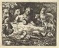 The Rooster Accuses Renard of Murdering his Chicken from Hendrick van Alcmar's Renard The Fox MET DP837690.jpg