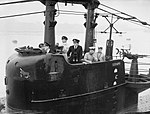 The Royal Navy during the Second World War HMS Seraph returns to Portsmouth IWM A 21106.jpg