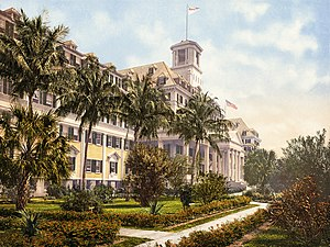 Royal Poinciana Hotel - The Royal Poinciana in 1900