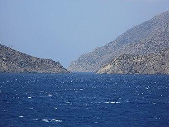 Saria Island - The Saria Strait.