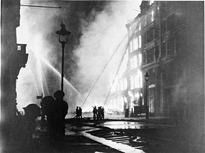 Royal Commonwealth Society - London during the Blitz