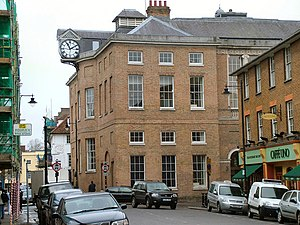 Shire Hall, Hertford - Image: The Shire Hall, Hertford geograph.org.uk 142920