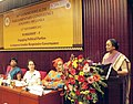 The Speaker, Lok Sabha, Smt. Meira Kumar addressing a workshop on 'Engaging Political Parties to Improve Gender Responsive Governance', as part of the ongoing 58th Commonwealth Parliamentary Conference, in Colombo, Sri Lanka.jpg