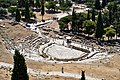 The Theatre of Dionysus from the Acropolis on July 2, 2019.jpg