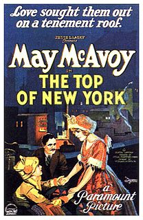 <i>The Top of New York</i> 1922 film
