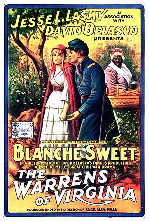 The Warrens of Virginia (1915 film) - Image: The Warrens of Virginia Film Poster