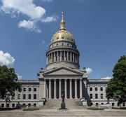 The West Virginia Capitol in Charleston LCCN2015631770