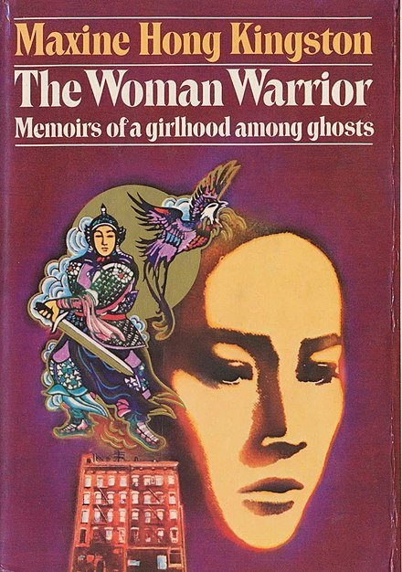book jacket cover of The Woman Warrior