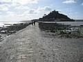 The causeway leading to St Michael's Mount..jpg