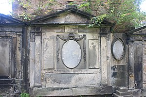 James MacKnight - The grave of Very Rev James MacKnight, St Cuthberts Churchyard, Edinburgh