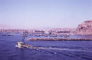 The port of Arica in southern Chile in 1960.png