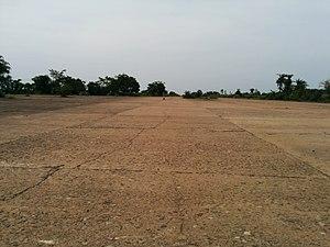 RAF Amarda Road - Image: The wide air strip