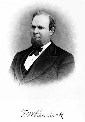 Iowa's 3rd congressional district - Image: Theodore Burdick