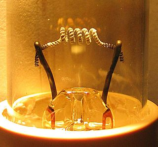 Hot cathode Type of electrode.