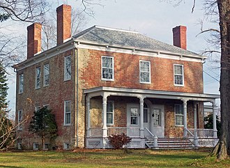 National Register of Historic Places listings in Columbia County, New York - Image: Thomas Brodhead House, Clermont, NY