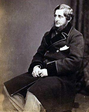 Thomas Montagu Steele - Steele in 1855, wet plate by Roger Fenton