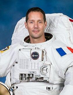 Portrait officiel de Thomas Pesquet (2020).