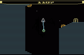 Thrust (video game) - Homebrew game Thrust by Thomas Jentzsch (2000)