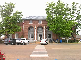 Tippah County, Mississippi - Image: Tippah County Courthouse