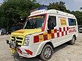 Tirupati Ambulance Force Tempo travaller.jpg