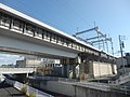 Tokaido Shinkansen Biwajima feeding electrical substation & airsection.jpg
